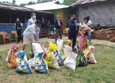 Arunachal Shiksha Vikas Samiti Distributed Free Groceries Item To More Than 300 Weaker Families Of Dailywage Labours